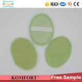 Bain de tissu de bambou naturel produit gant exfoliant Retour de la courroie d'épurateur