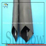 Tuyauterie adhésive de rétrécissement de la chaleur de PE de fonte chaude lourde/tube électrique d'isolations