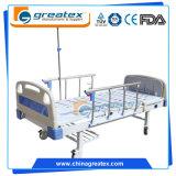 2 Positions-Handbuch-Kurbel-Krankenhauspatient-Bett für Verkauf (GT-BM2505)