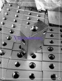 SAE-Flansch-Block mit Kolben-Schweißungs-Rohr