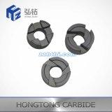 Peças espirais de carboneto de tungstênio 3 vias / 4 vias