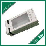 Kundenspezifischer weißer Geschenk-Schmucksache-Kasten mit Belüftung-Fenster
