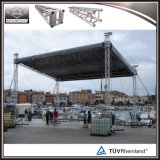 Armature en aluminium de toit d'armature d'éclairage d'armature d'étape pour des événements extérieurs