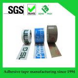 Cinta de acrílico de empaquetado de la cinta de BOPP con la impresión de la insignia
