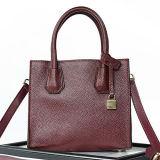 Fabbrica di qualità superiore dell'OEM delle donne delle borse dei sacchetti di cuoio della pelle bovina del progettista delle signore a Guangzhou Emg4915