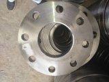 Flange inoxidável do plano de aço do OEM com fazer à máquina do CNC