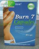 Burn 7 pílula de dieta com perda de peso de ervas