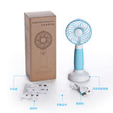 Ventilador de mano de vector del ventilador del USB ventilador práctico portable del ventilador del mini