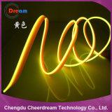 Luz flexible del coche del alambre del EL del PVC