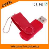 USB vermelho Pendrive do Twister da movimentação do flash do USB da venda por atacado 2.0