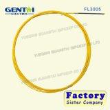 Câble électrique de fibre de verre de câble d'alimentation de câble d'alimentation électrique