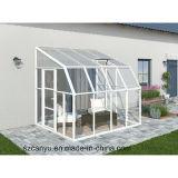 Nuevos cuartos de Sun del jardín del diseño/casas de cristal modernas/sitio verde de cristal