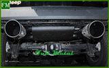 Scarico del doppio tubo di Mulisha del metallo per il Wrangler della jeep