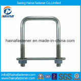 Bester Preis-Karton-Stahl mit verzinktem quadratischem HauptUbolt