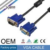Sipu Hochgeschwindigkeits-VGA-Kabel-Mann zu den männlichen Computer-Kabeln