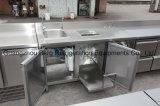Hot Sale Réfrigérateur avec table de travail en acier inoxydable avec Ce