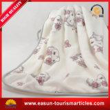 Manta coralina del terciopelo de la manta de encargo de la comida campestre de la manta del paño grueso y suave del telar jacquar