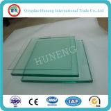 3-19mm claro vidrio templado de flotación para edificio