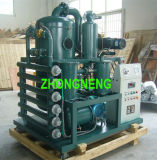 Het vacuüm Systeem van de Filtratie van de Olie van de Transformator, de Apparatuur van de Zuiveringsinstallatie van de Olie Zhongneng