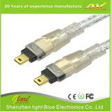 Кабель 4pin кабеля IEEE1394 штепсельной вилки шины сверхбыстрой передачи данных к 4pin