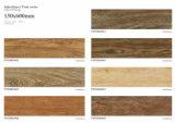 Telha de assoalho de madeira da porcelana dos importadores da telha cerâmica