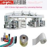 Máquina seca de la laminación OPP de Qdf-a de la película de alta velocidad de la serie