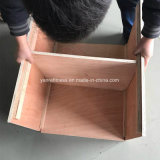 Nuevo reemplazo del conjunto del rectángulo del salto de Crossfit Plyometrics Plyo del diseño de madera y rectángulo suave de la espuma