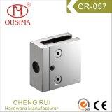 ステンレス鋼の正方形のガラスクランプ(CR-057)