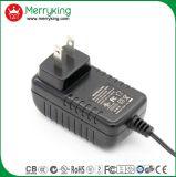 La marca de fábrica de Merryking Pared-Monta el adaptador de 12V 1A nosotros adaptador de la potencia del enchufe AC/DC