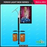 Улицы мебель лампы полюс рекламы Lightbox солнечных знаков светодиодного освещения