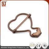 Hebilla combinada individual del metal de la mano de obra fina para los bolsos
