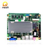 Motherboard Itx, Motherboard 1080P Display/3G/WiFi/24bit Lvds/6*COM RS232/Lpt/VGA van de Macht van Fanless Lage Mini van het Atoom N2800