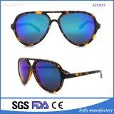 Qualitäts-Plastikeinspritzung-Doppelt-Brücken-Sonnenbrillen