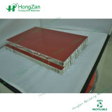 Hölzernes Korn-Aluminiumbienenwabe-Panel für Wand Faç Ade