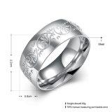 Het eenvoudige Staal van het Titanium om Ringen van de Mensen van de Verkoop van de Ring de Hete Roestvrije