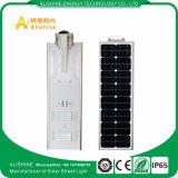 Fácil instalación 30W en una sola luz de calle solar integrada