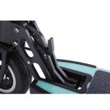 """Do auto elétrico do """"trotinette"""" de Hoverboard skate esperto de equilíbrio de duas rodas do """"trotinette"""" com barra do punho"""