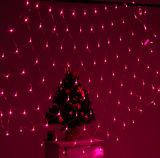 1.5X1.5mの星明かりの夜庭LEDのクリスマス白いカラーネットライト