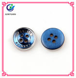Bouton de qualité de chemise de bouton d'oeil de l'enfant quatre de bouton de résine