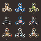 Hot Product Fingertip Top Fidget Spinner Toy avec lumière (H8185025)