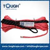 Duro avvertire la corda sintetica dell'argano UHMWPE della corda della corda dell'argano (amo)
