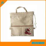 Non сплетенный мешок Backpack, дешевый мешок Backpack Drawstring