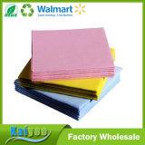 Multicolor Acupuntura Non-Woven pano grosso Pano de limpeza de impressos