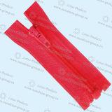 Großhandelschina-Hersteller-Marken-unsichtbarer Kleidungs-Nylonreißverschluß 003