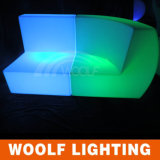 LEDの単一のソファーによって照らされる庭LEDのソファー