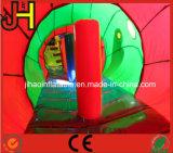 膨脹可能な幼虫のトンネル、子供のためにコンボ屋内膨脹可能な警備員の障害