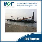 採鉱機械10インチのカッターの吸引の浚渫船