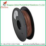 filamento de cobre del filamento 1.75m m de la impresora del metal 3D
