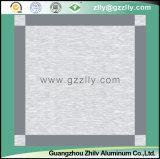Sensation transparente avec texture métallique Plafond givré