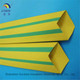 Yellow Green PE Heat Shrink Tube for Cable Marks / Optic Fiber Heat Shrink Tube